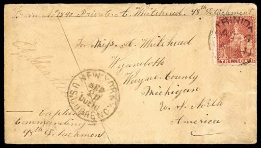 cover 1874 (26 Aug.) envelope