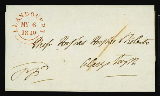 cover 1840 (6 May) entire lett