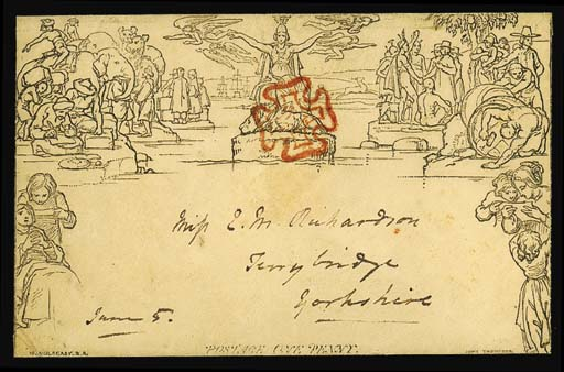 cover A135, addressed to Ferry