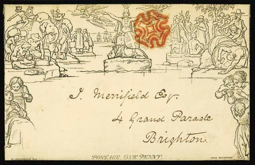cover A158, addressed to Brigh