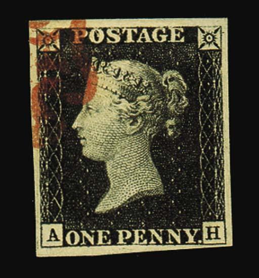 used  AH, variety watermark in