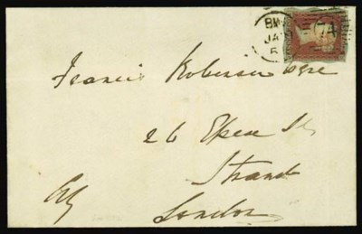 cover 1854 very clean envelope