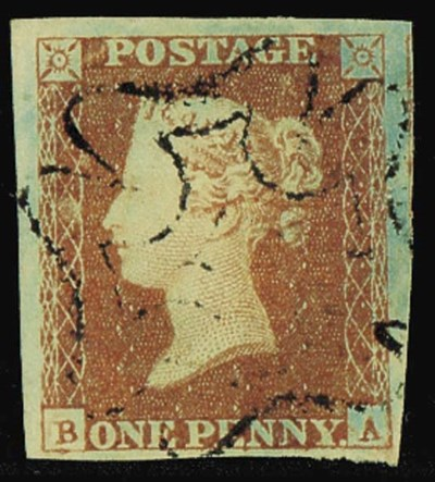 used  CHANNEL ISLANDS: 1841 1d