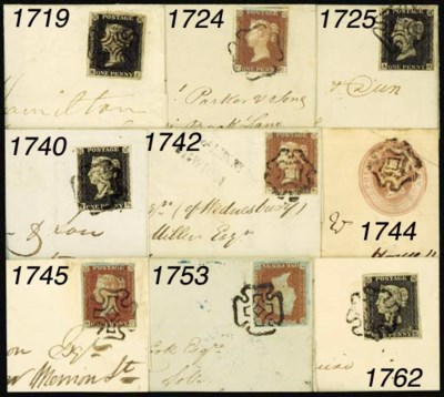 cover GREENOCK: 1840 1d. plate