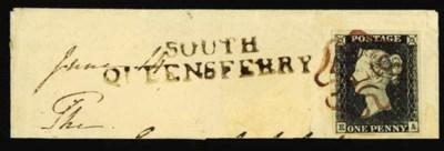 on piece  BROWN-PURPLE: 1840 1