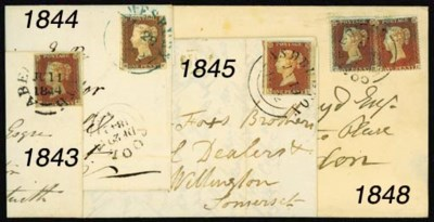 cover ABERYSTWITH: 1841 1d., u