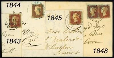 cover ASHBURTON: 1841 1d., unp