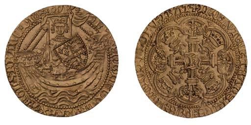 Henry V (1413-22), Noble, 7.01