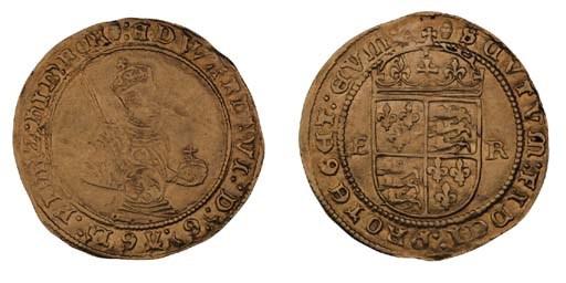 Edward VI, third period, gold