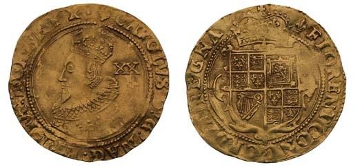 Charles I, Unite, 8.83g., Towe