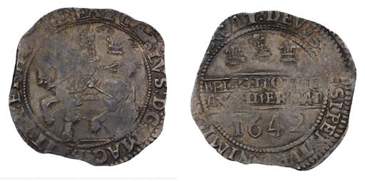Charles I, Halfcrown, 1642, Ox