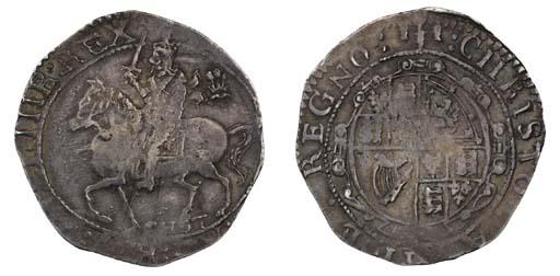 Charles I, Halfcrown, 1644, Ch