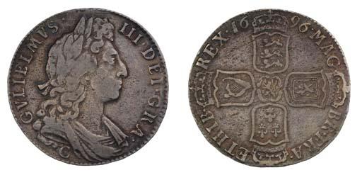 William III (1694-1702), Halfc