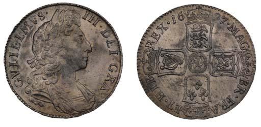 William III, Halfcrown, 1697,