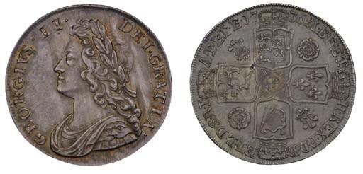 George II, Halfcrown, 1736, NO