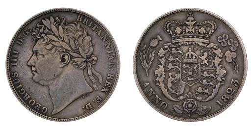 George IV (1820-30), Halfcrown