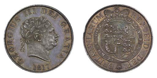 George III, proof Halfcrown, 1