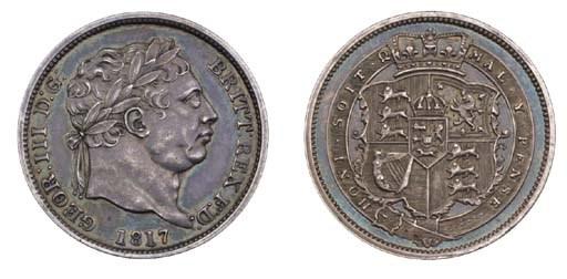 George III, proof Shilling, 18