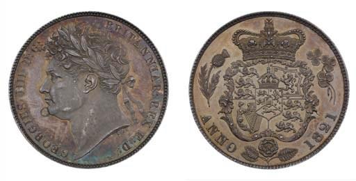 George IV (1820-30), proof Hal