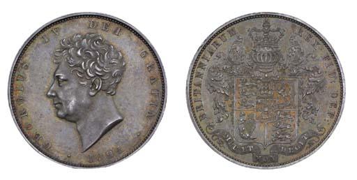 George IV, proof Halfcrown, 18