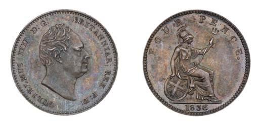 William IV, pattern Groat, 183