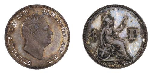 William IV, pattern Groat, 183