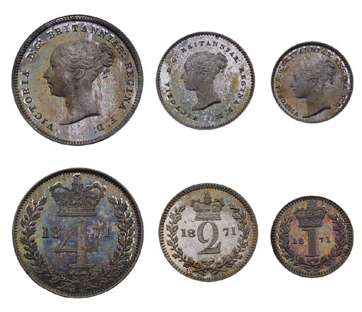 Victoria, proof silver Groat,