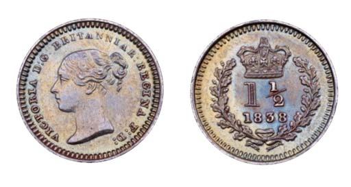 Victoria, proof Three-Halfpenc