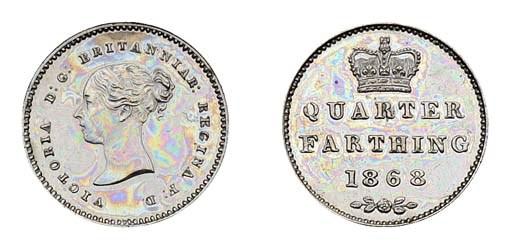Victoria, proof Quarter-farthi