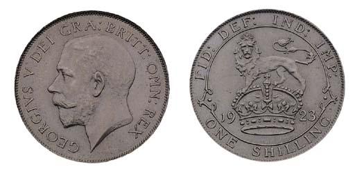 George V (1910-36), pattern Sh