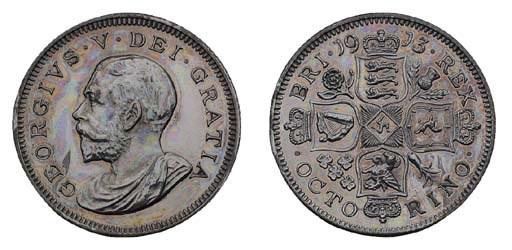 George V, pattern Octorino, 19