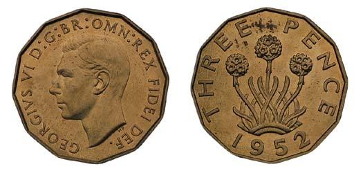 George VI (1936-52), proof Thr