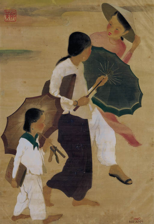 NGUYEN ANH (Vietnam 1914-Franc