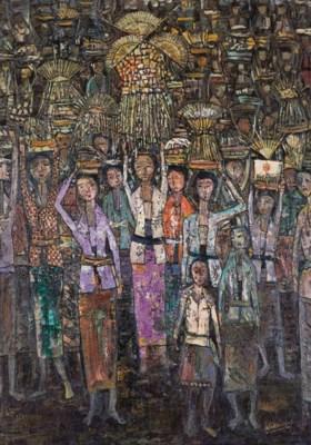 WIDAYAT (b. Indonesia 1919)
