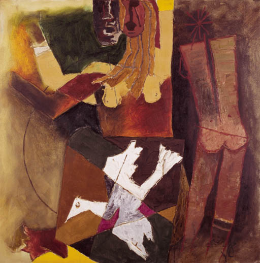 MAQBOOL FIDA HUSAIN (b. India