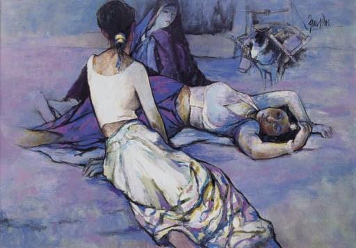ARUP DAS (b. India 1927)