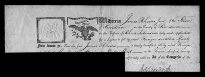 $5.00 Federal Retail License t