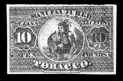 Tobacco, 10 lbs. 1868 Issue To