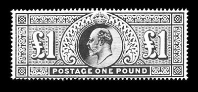 1911, £1 Deep Green (142b, Gib