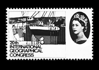 1964, 4p Geographical Congress