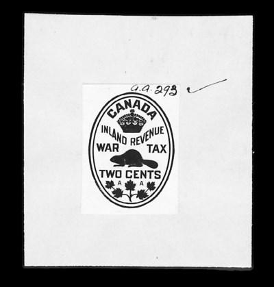 Canadian Revenue, 1915 2c