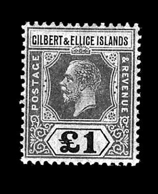 Gilbert & Ellice Islands, 1924