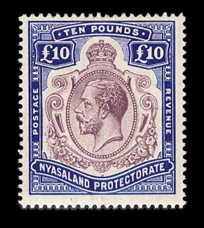 Nyasaland Protectorate, 1919,