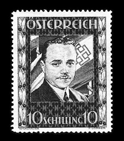 1936, 10s Dollfus (380), unuse