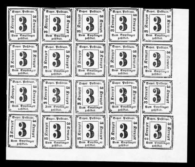 1862, 3kr Black, Postage Due (