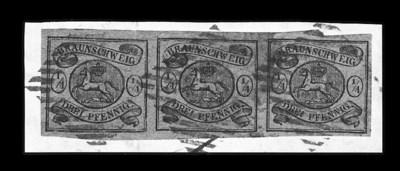 1856, ¼ggr Black on brown (4,