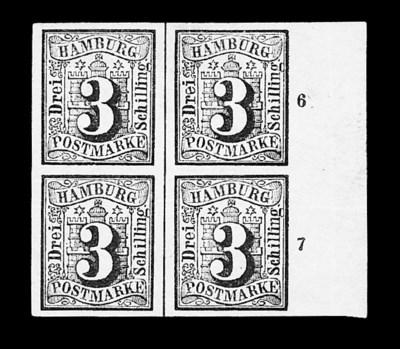1859, 3s Blue (4, Michel 4), m
