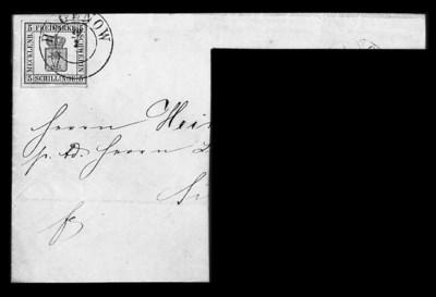 1856, 5s Blue (3, Michel 3), a