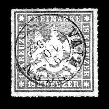 1865, 18kr Orange (46, Michel