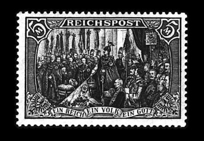1900, 5m Reichspost, type I (6